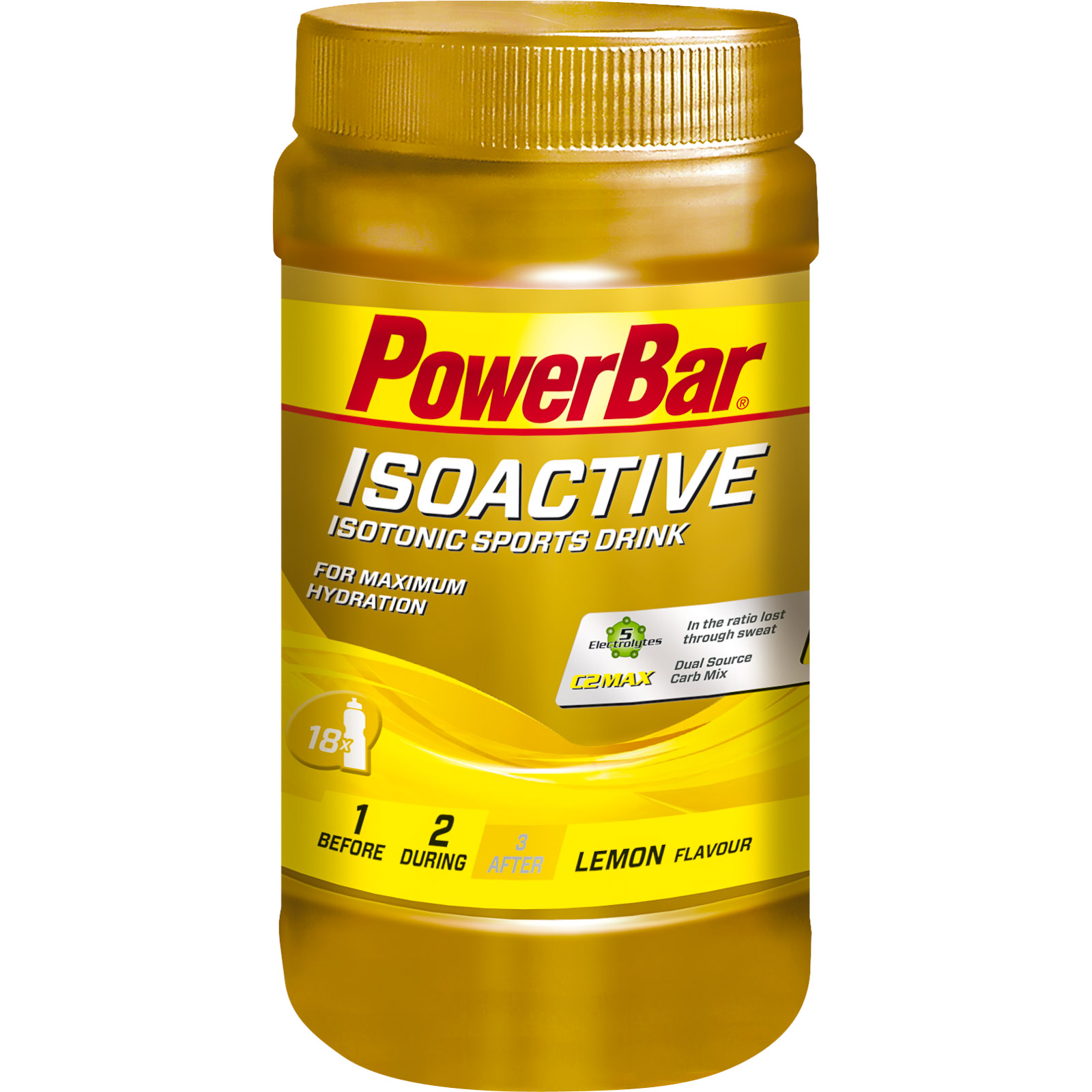 powerbar isoactive izotonick portov n poj 600g citr n. Black Bedroom Furniture Sets. Home Design Ideas