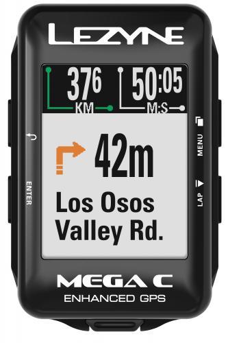 Cyklonavigácia LEZYNE MEGA Color GPS HRSC