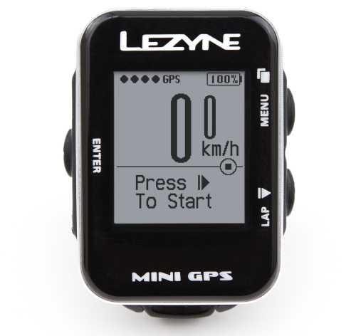 Cyklocomputer LEZYNE Mini GPS Y9