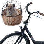 Košík na bicykel pre zvieratká PLUTO s krytom