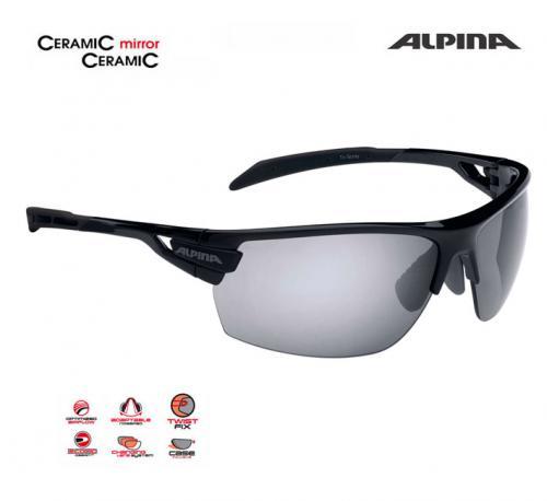 a401e8331 Cyklistické okuliare Alpina TRI-SCRAY čierne » maraton.bike